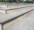 Steps at Pacific Pines Skate Park