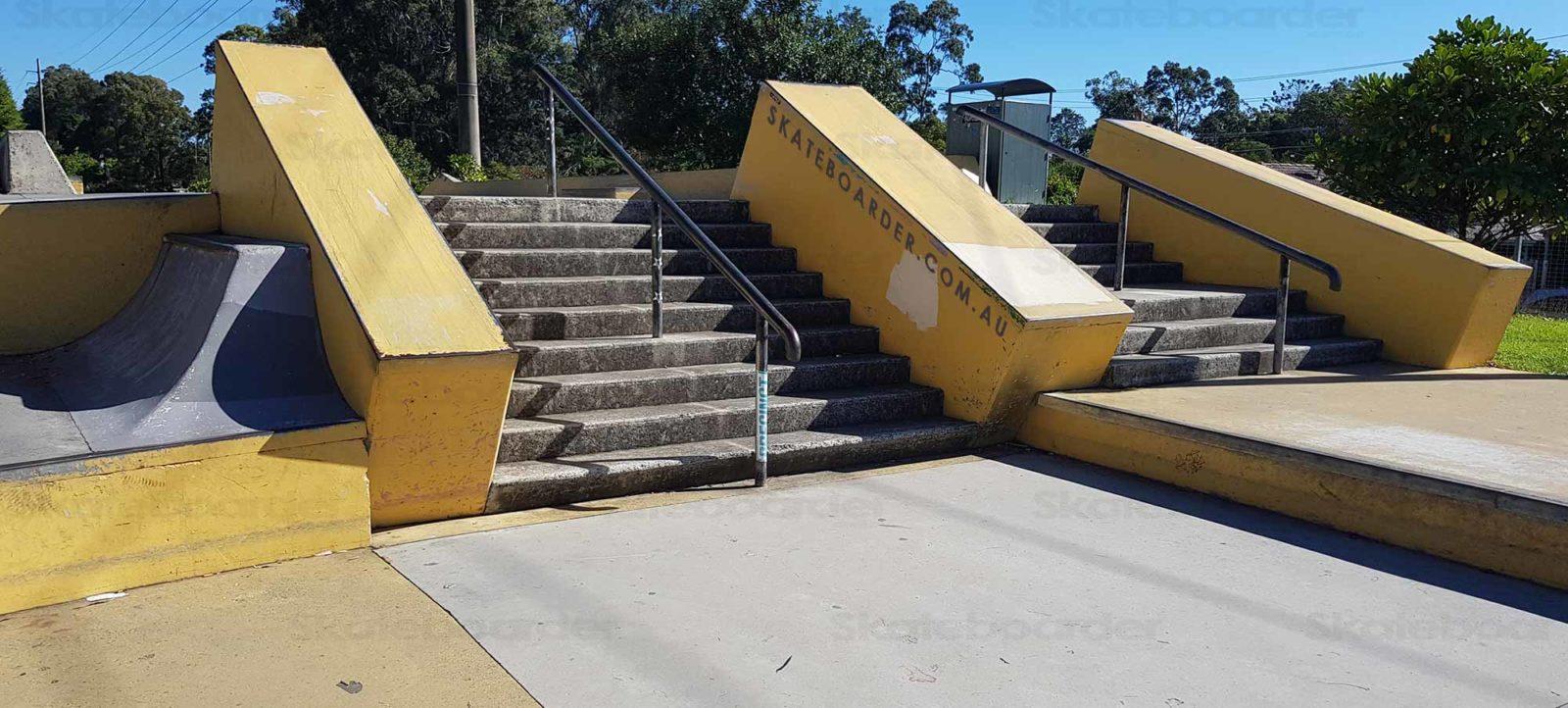 Stairs and hubbas at Varsity