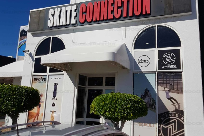 Skate Connection Ashmore Outside