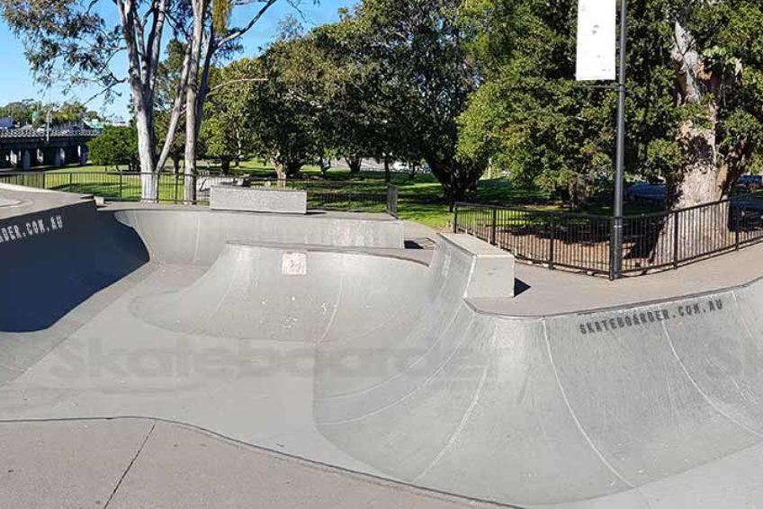 Nerang SkateBowl Panorama