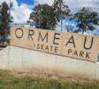 Ormeau Skate Park Sign