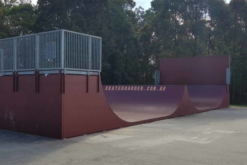 Oxenford 5ft spine ramp and rail