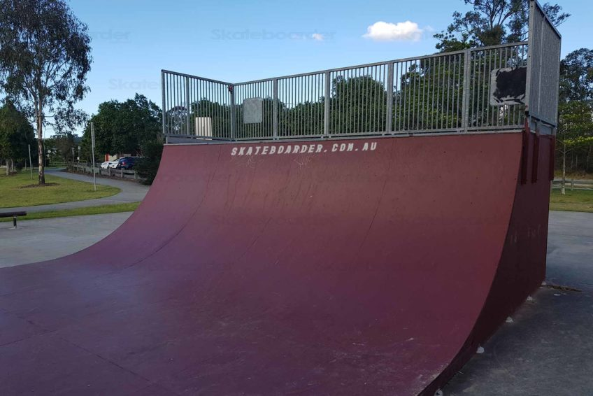 6ft transition on Oxenford skate ramp