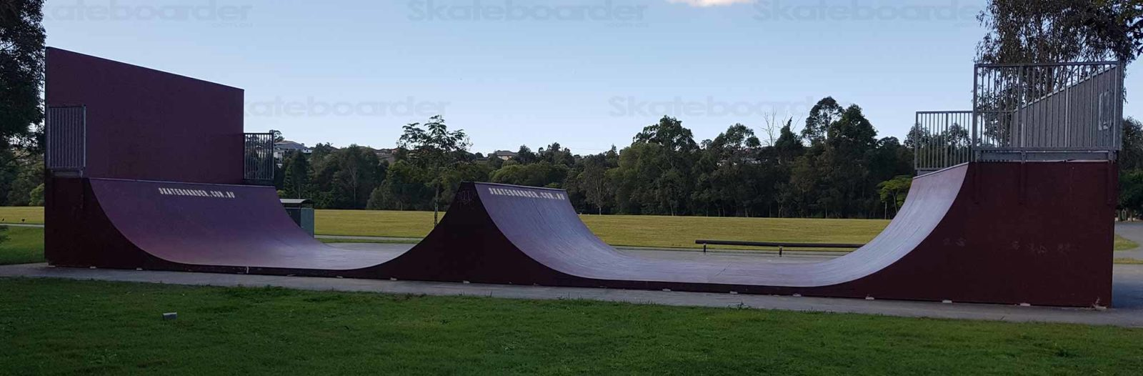 Oxenford double halfpipe