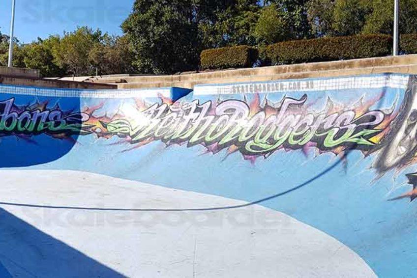Pool Bowl at Pizzey Skatepark