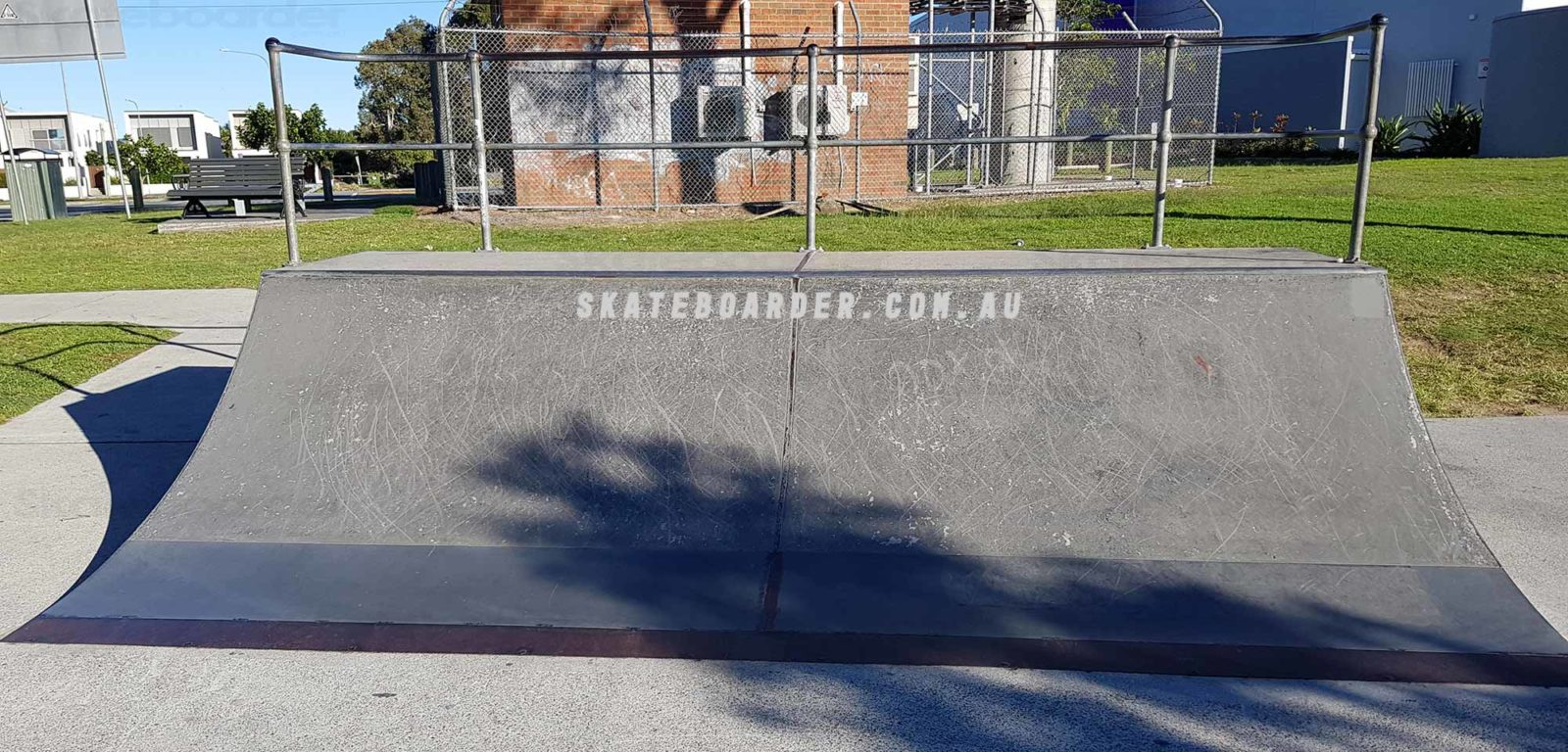 Prefab ramp at Runaway Bay