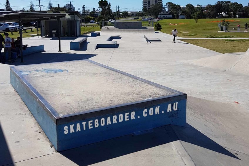 Ledge and street section at Tugun