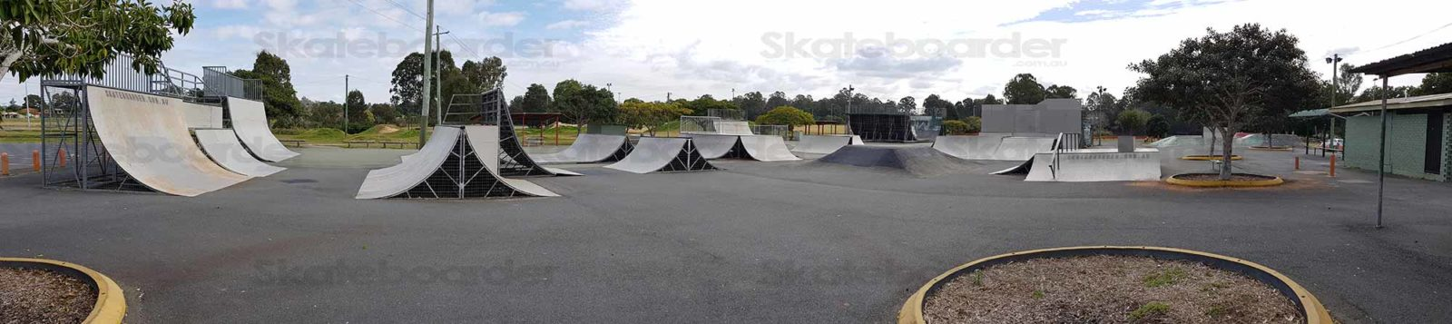 Beenleigh Skatepark original form