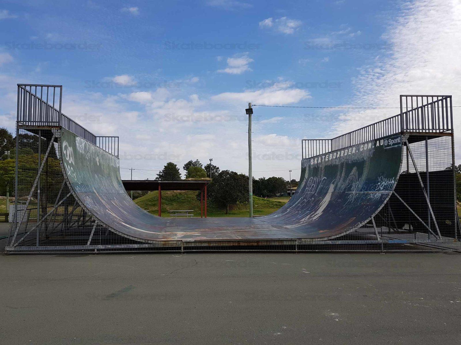 Beenleigh Skatepark Halfpipe