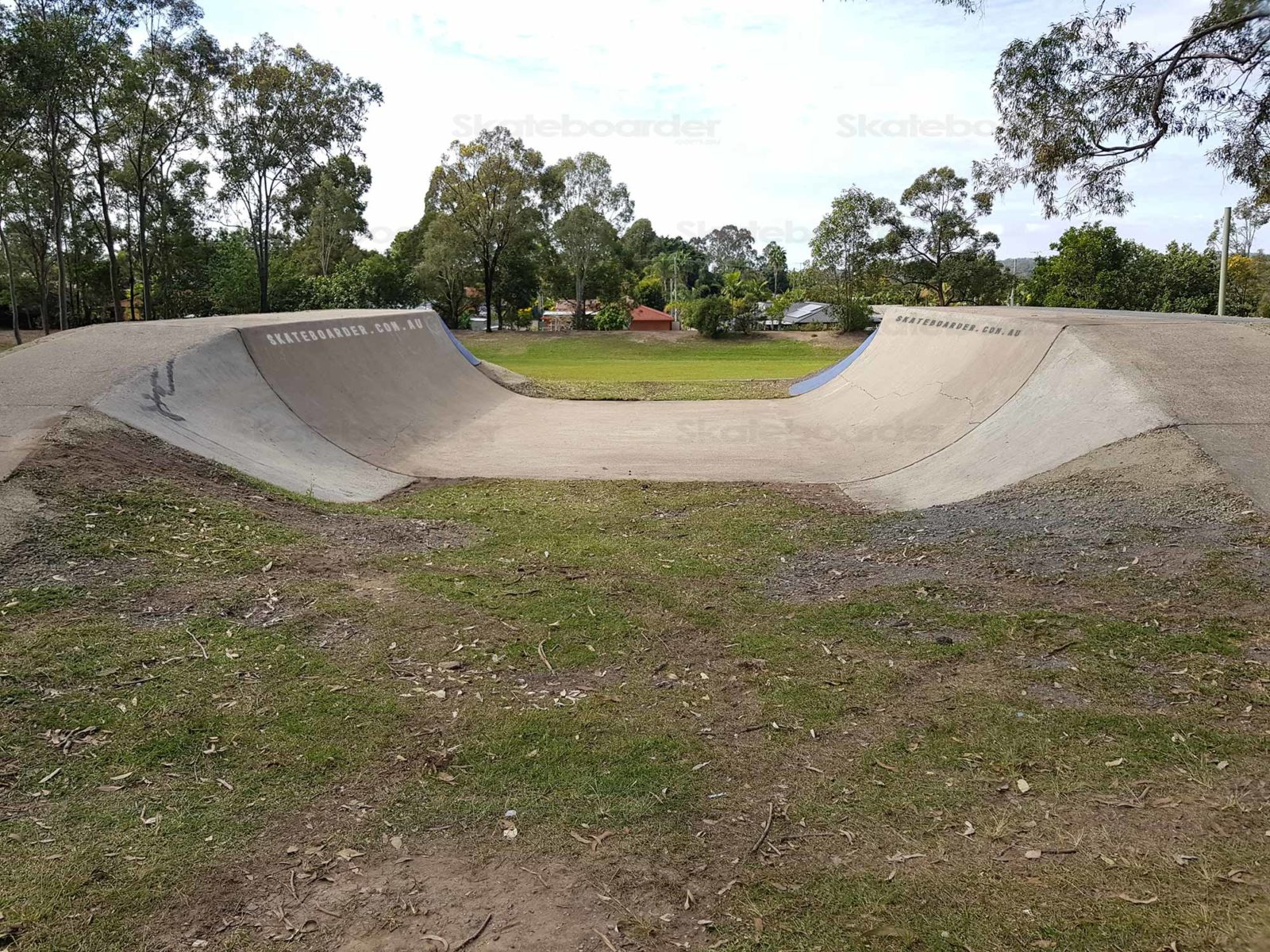 Half Pipe from track