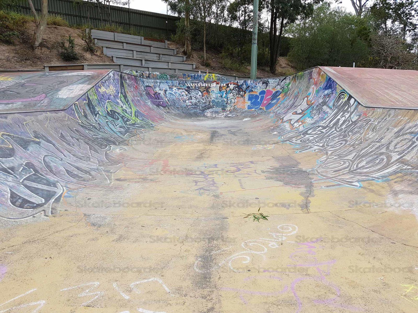 Woodridge Skatepark Halfpipe