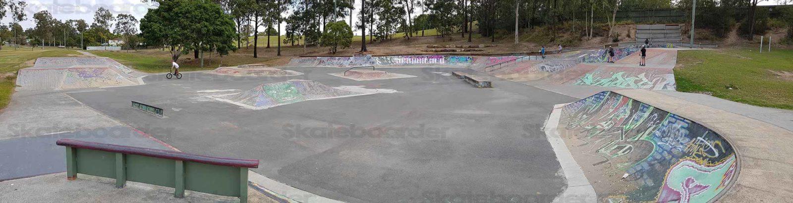 Woodridge Skate bowl wide view