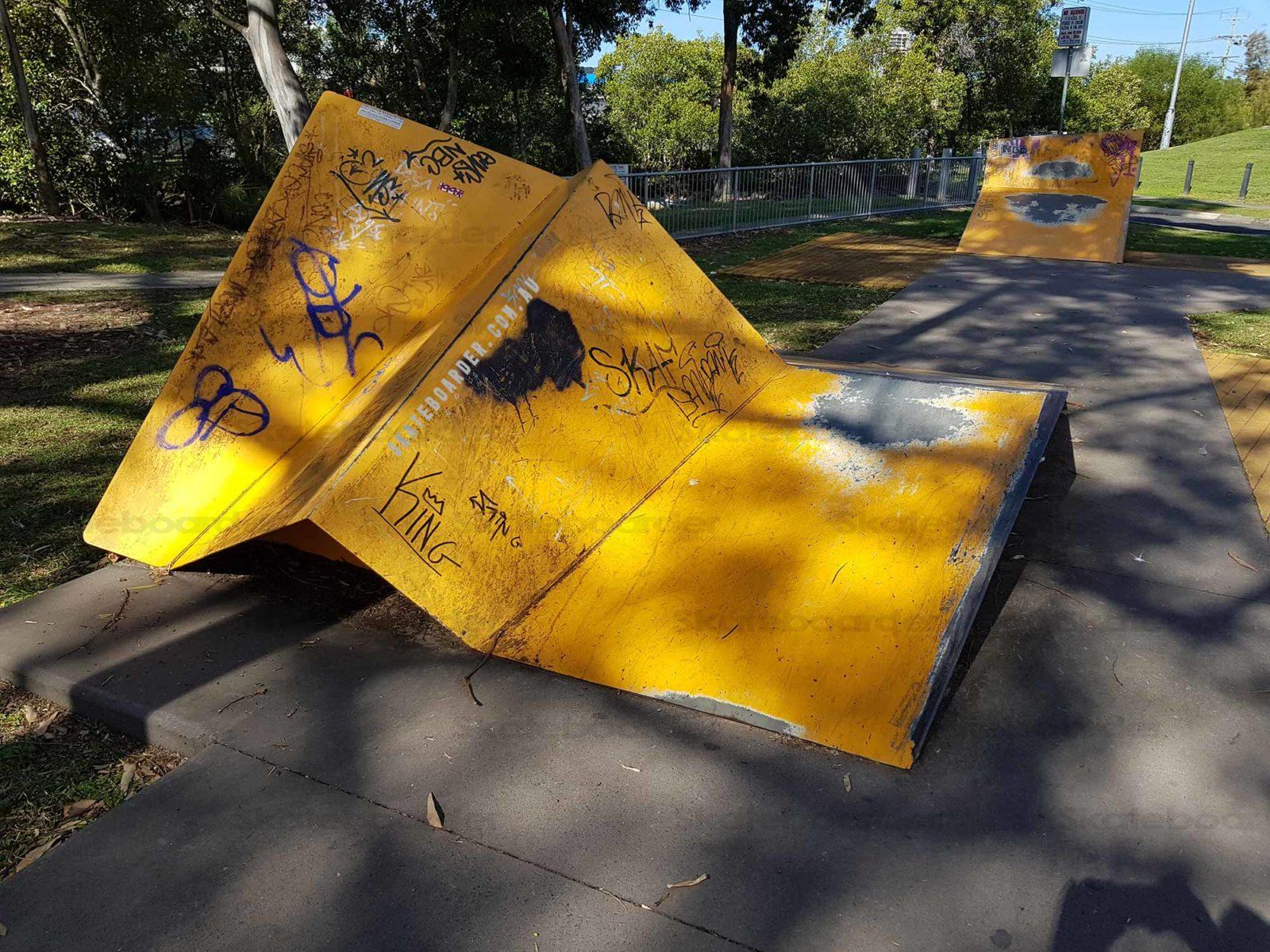 Skateable Art at Tweed Skatepark