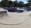 Wide view of Tweed Skate Bowl