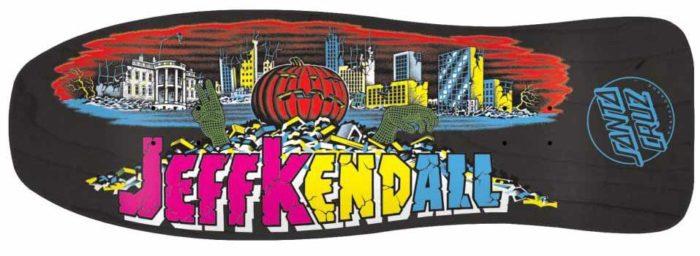 Santa Cruz Kendall Reissue Skateboard Deck