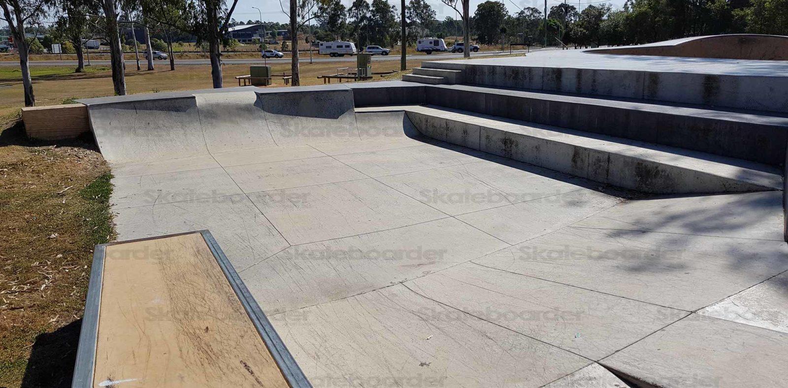 New Street elements at Jimboomba Skatepark