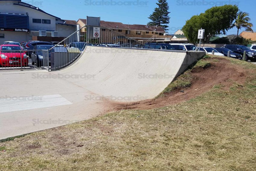 Quarter Pipe at Lennox Heads