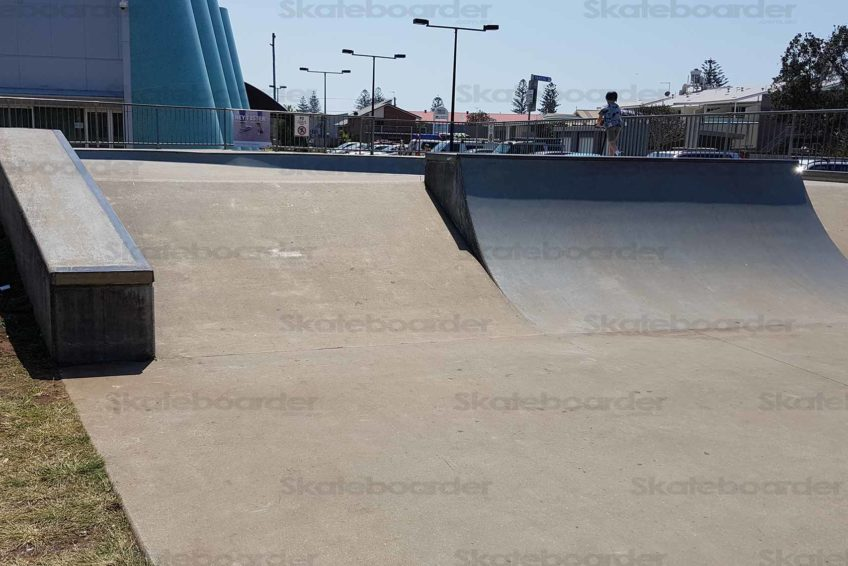 Hubba, Banks and Quarter Pipe
