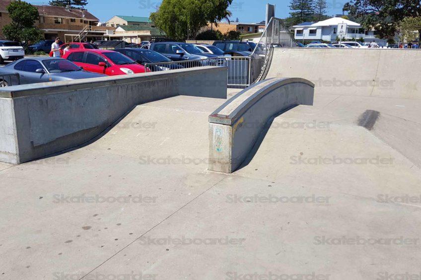 Lennox Heads Skatepark Ledges