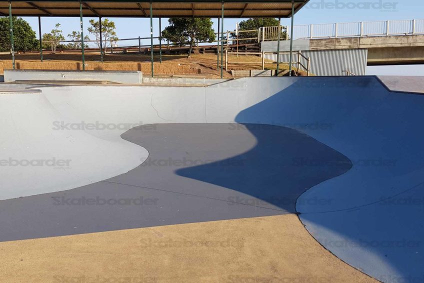 Ballina Skate Bowl with extension