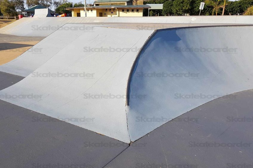 Double Bank with Coping Hip
