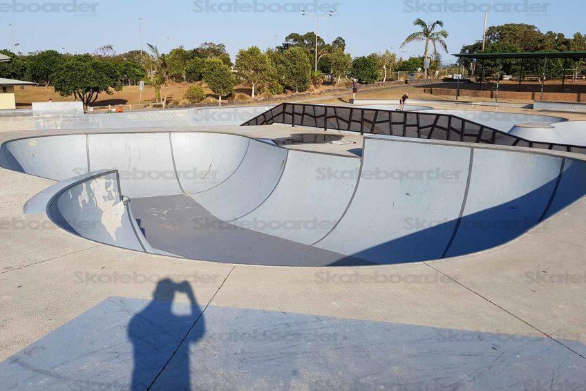 Big Skate Bowl at Ballina
