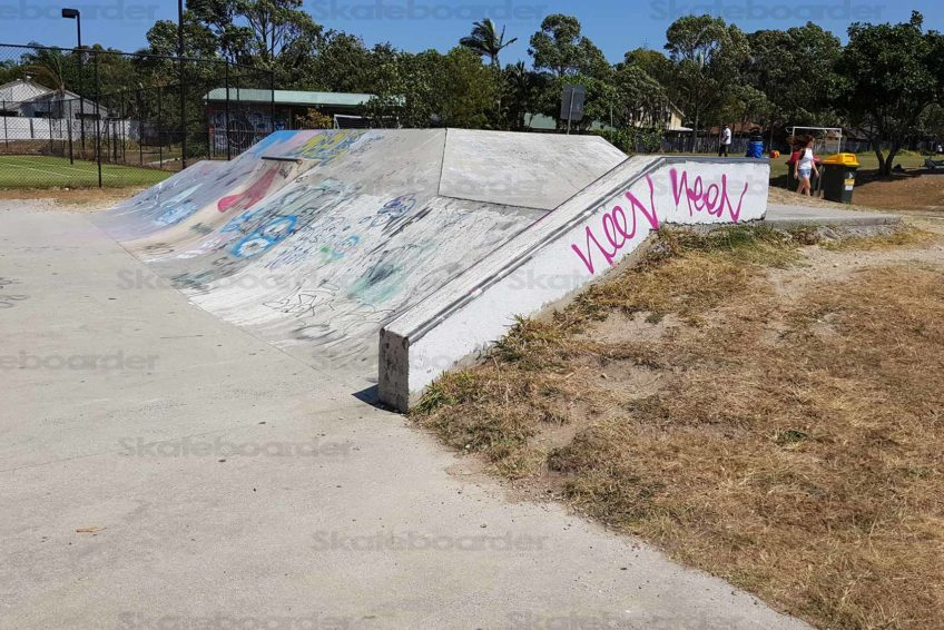 Banks and Hubba at Suffolk Park Skatepark