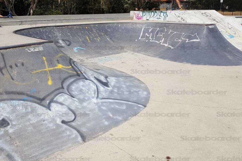 Suffolk Park Skatepark Mini Bowl
