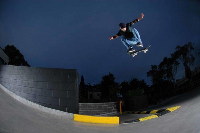 Skater Launching