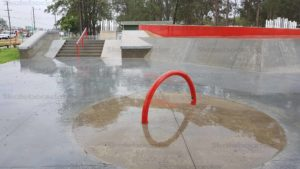 6 Stair rail and hubba at Oxenford