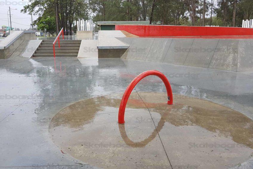 6 Stair rail and hubba at Coomera Skatepark