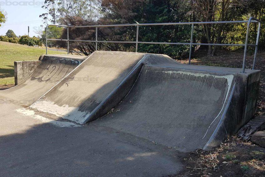 Caniaba Skatepark Quarters and Bank