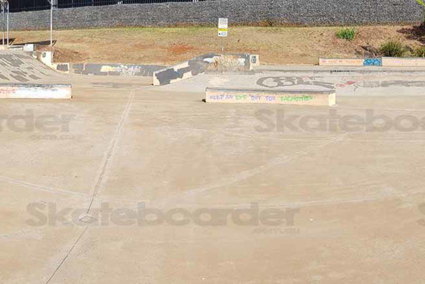 Goonellabah Skate Park Panorama
