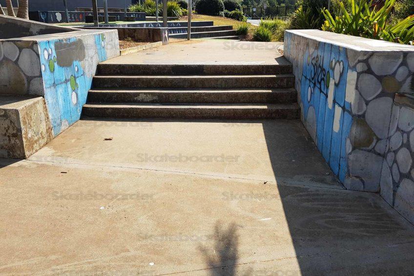 4 Stair at Goonellabah Skatepark