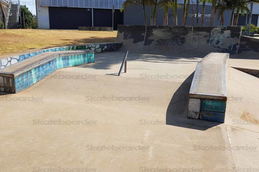 Quarter at Goonellabah Skatepark