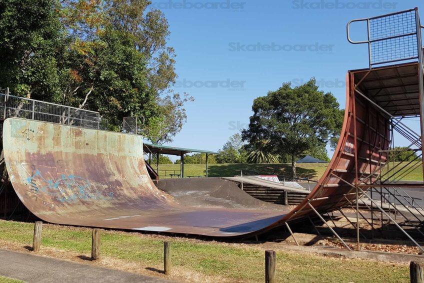 Lismore Skate Park Vert Ramp