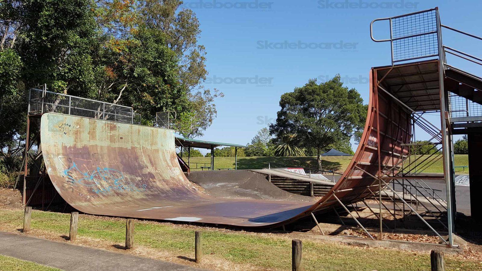 Lismore Skatepark Vert Ramp