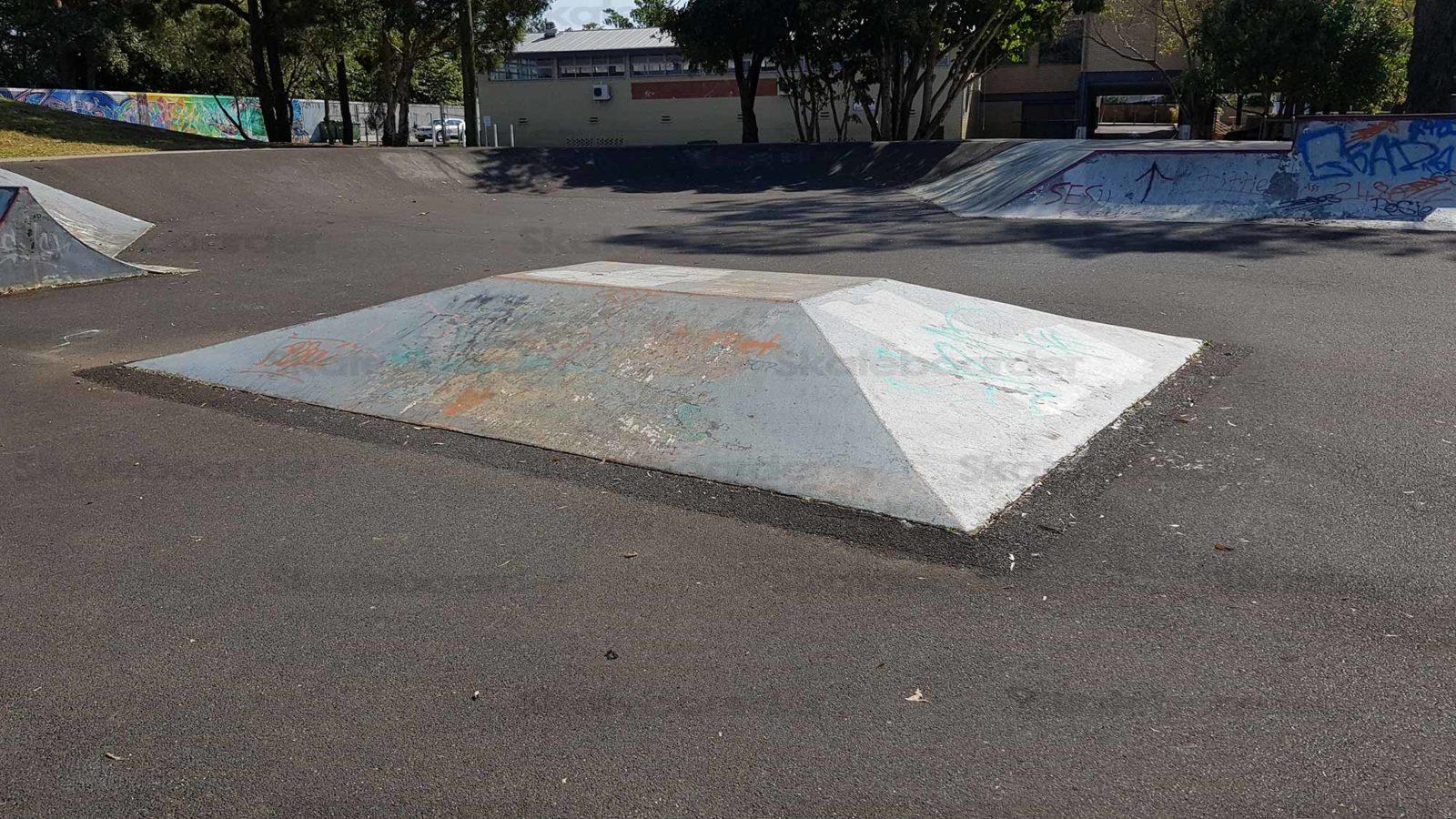 Pyramid at Lismore Skatepark