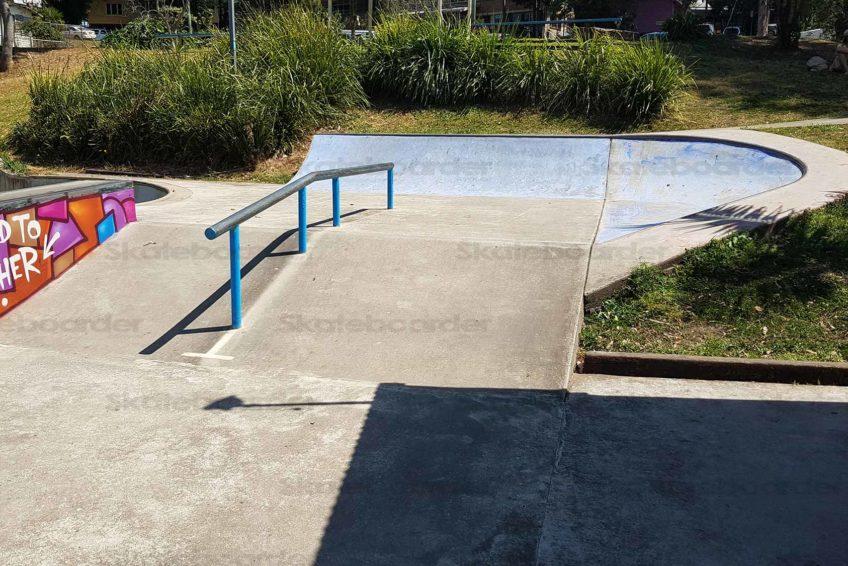 Nimbin Skate Park Down Rail