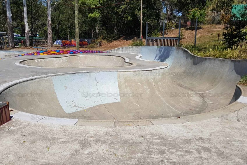 Start of Snake Run at Nimbin Skatepark