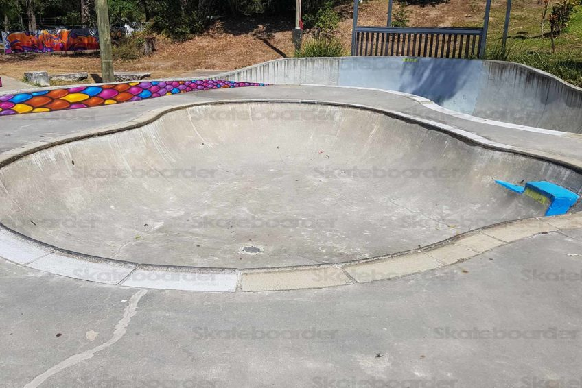 Nimbin Skate Park Medium Bowl