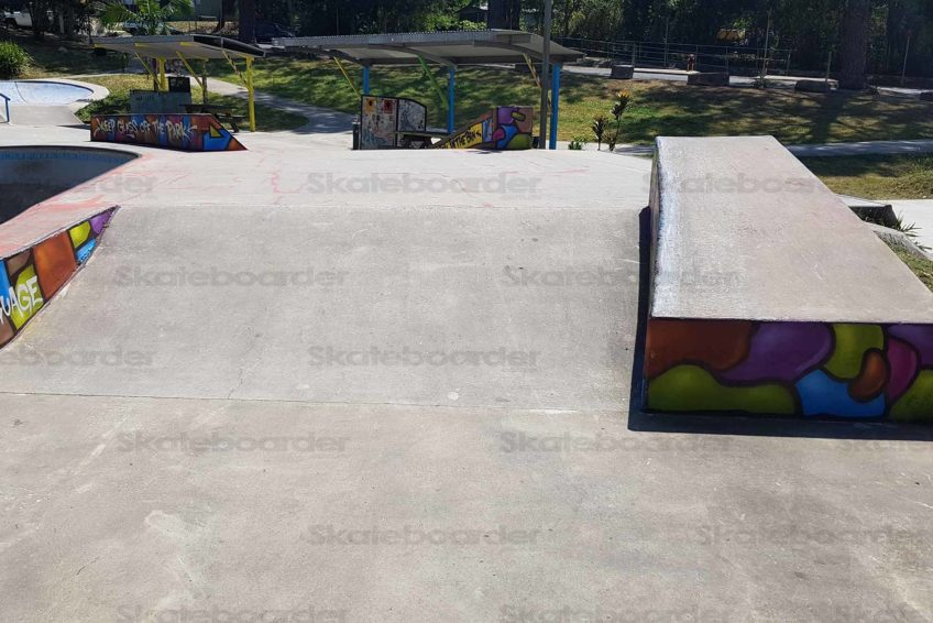 Nimbin Skate Park Bank & Ledges