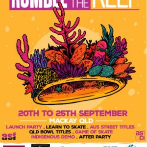 Rumble on the Reef Skate Comp