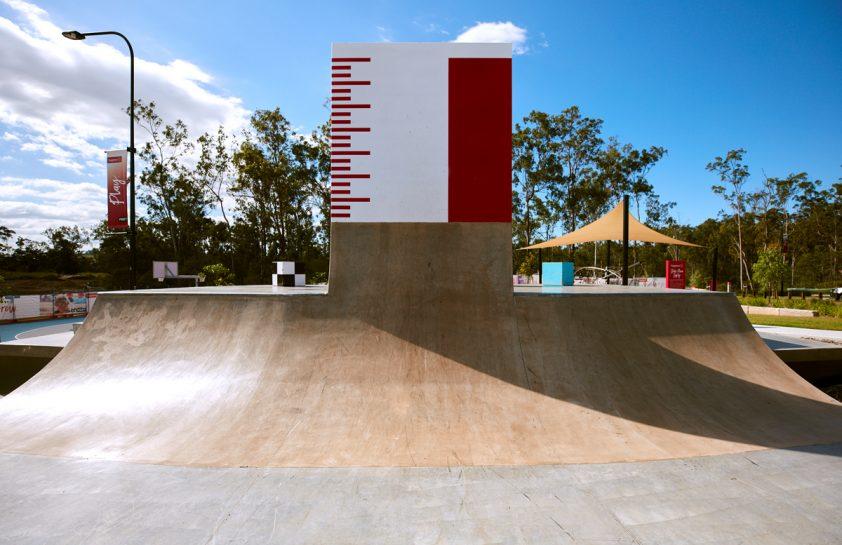 Vertical Wall at Flagstone Skatepark