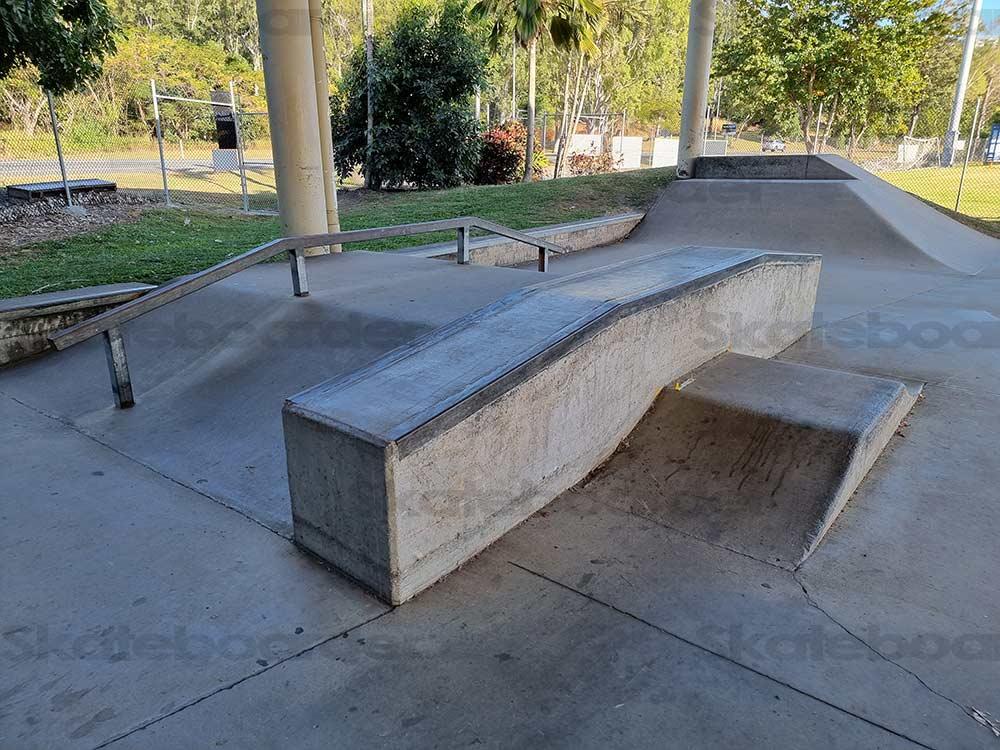 Airlie Beach Skatepark Funbox