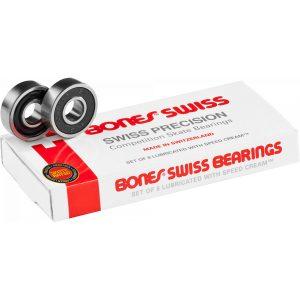 Bones Swiss Skateboard Bearings 8 pack
