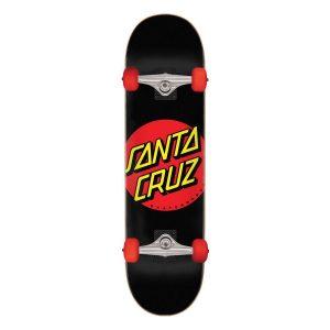 Santa Cruz Classic Dot Super Micro 7.25 Complete Skateboard Bottom