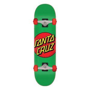 Santa Cruz Classic Dot Mid 7.80 Complete Skateboard Bottom
